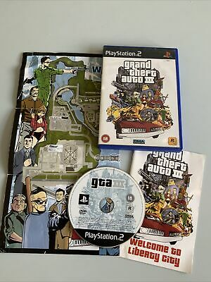 £2.96 • Buy PLAYSTATION 2 PS2 GRAND THEFT AUTO III Gta 3 WITH MANUAL Fast Post