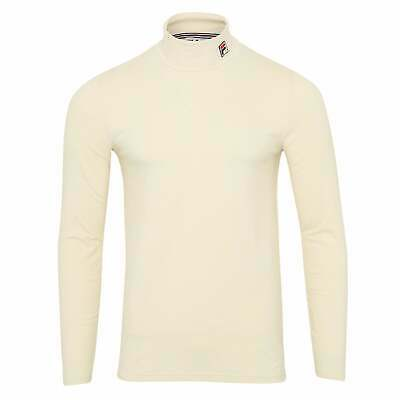£36.99 • Buy Fila Vintage 19th LM932983 Retro Roll Polo Neck Jersey Long Sleeve Top