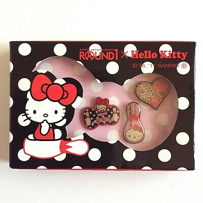 £17.58 • Buy Hello Kitty Pin Set Of 3 Bowling Alley Limited In Box Not Available At The Store