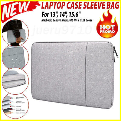 £7.27 • Buy Laptop Sleeve Bag Carry Case Cover Pouch For Macbook Air Pro HP 13.3 15.6 Inch