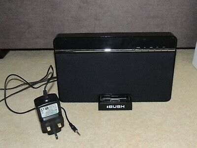 £25 • Buy Bush 30w Iphone/ipod Speaker Dock IS285 With AUX Cable - Charger, Dock, Speaker