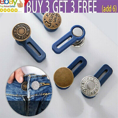 £4.59 • Buy Waist Band Extender Button Jeans Trouser Expander Pants Suit Cuff Maternity Aa