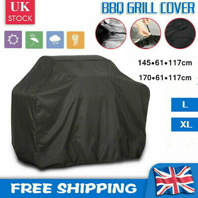 £6.98 • Buy L~XL Waterproof BBQ Cover Barbecue Grill Protector Outdoor Garden Heavy Duty UK