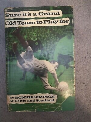 £11 • Buy Ronnie Simpson Autobiography