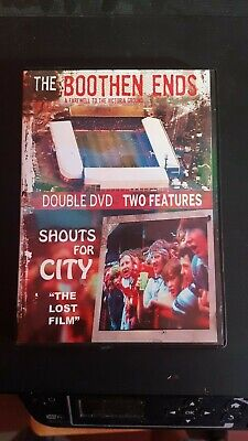 £10 • Buy Stoke City The Boothen Ends & Shouts For City Double Dvd