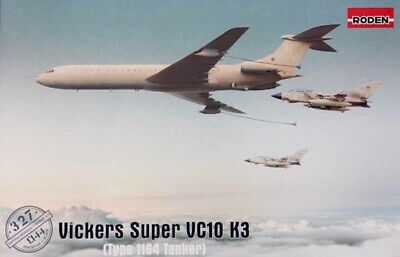 £30.95 • Buy Roden 327 Vickers Super VC-10/VC10 K3 Type 1164 RAF Tanker 1:144 Aircraft Model