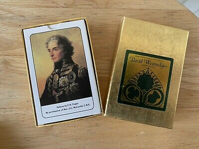 £1.25 • Buy Vintage David Westnedge Bridge Playing Cards Admiral Nelson Made In England