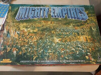 £85 • Buy Warhammer Mighty Empires Game 1990