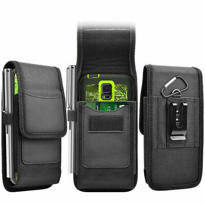 £4.79 • Buy For Samsung Galaxy A52s A22 5G Card Slot Holder Nylon Phone Pouch Case+Belt Clip