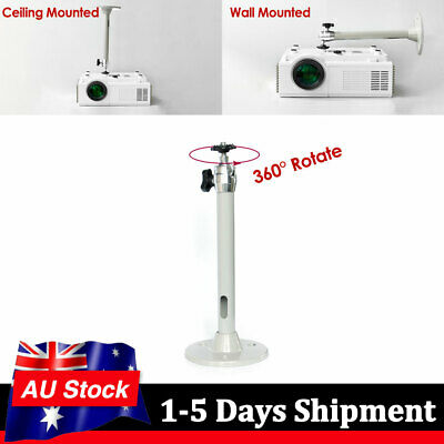 AU16.99 • Buy Mini Bracket Universal 3kg Load For Mini DLP Projector Wall Celling Mount Stand