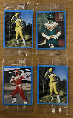 £1.49 • Buy POWER RANGERS – KELLOGG'S FROSTIES – 1996 Stickers Sealed Never Opened X 4