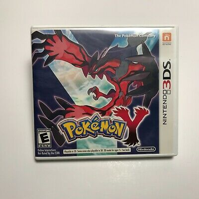 $14.99 • Buy Pokemon Y (Nintendo 3DS 2013) Case, Manual And Inserts Only, NO GAME