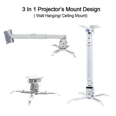 AU39.99 • Buy 44lbs Wall Ceiling Mount Bracket For Epson Projector BenQ Holder Extendable AU