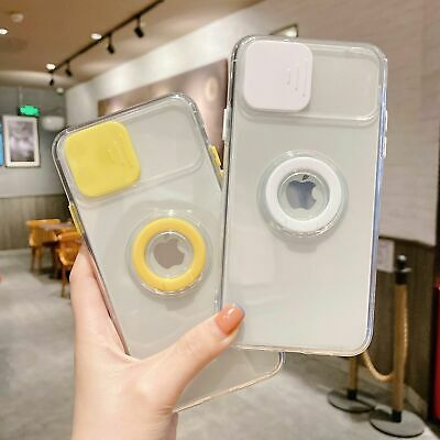AU7.99 • Buy Camera Protector With Ring Holder Phone Case For IPhone 13 12 Pro 11 Pro Max XS