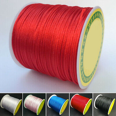 £4.88 • Buy 1 Roll 55M Terylene Chinese Knot Rope 1.5mm For Jewelry Making Finding New