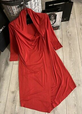 £108.77 • Buy Vivienne Westwood Anglomania Dress Red Size L