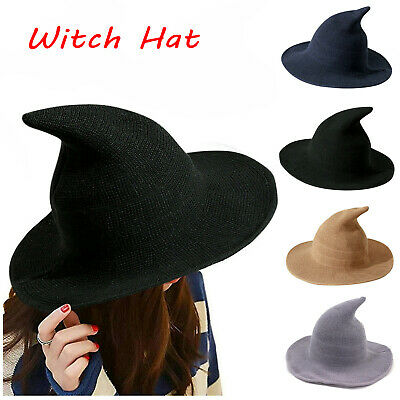 £6.69 • Buy Halloween Party Witch Hats Cosplay Modern Witch Hat  Fancy Dress Accessory Props