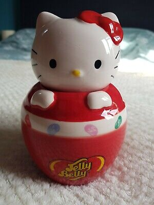 £8 • Buy Jelly Belly Bean Hello Kitty Ceramic Candy Sweet Jar Collectable Official Sanrio