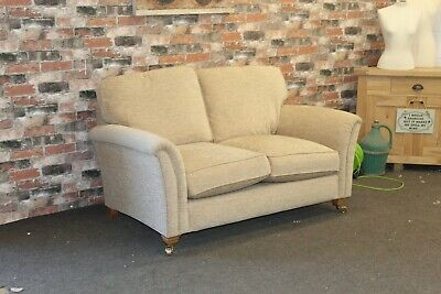 £899 • Buy Parker Knoll Devonshire 2 Seater Sofa In Pale Gold Chenille Fabric