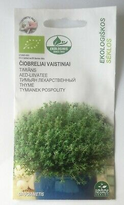 £2.87 • Buy 350 Thyme *Purple Creeping*Herb SEEDS  Quality Seed *Fast Dispatch *Ground Cover