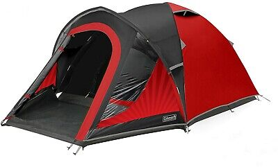 £43 • Buy Coleman 4 Person BlackOut Festival Collection Tent Opened Not Used.