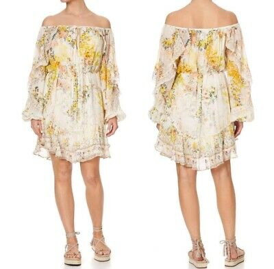 £151.02 • Buy Brand New Camilla In The Hills Of Tuscany Blouson Frill Sleeve Dress RRP $749