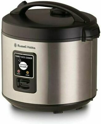 AU64.99 • Buy Russell Hobbs RHRC1 Rice Cooker 10 Cup, Silver