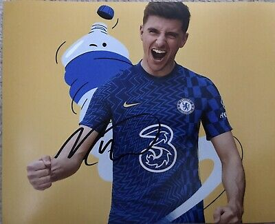 £24.99 • Buy Original Hand Signed Chelsea Picture By Mason Mount, England ⚽️