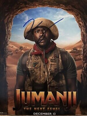 £29.99 • Buy Original Hand Signed Jumanji Picture By Kevin Hart, 🎬