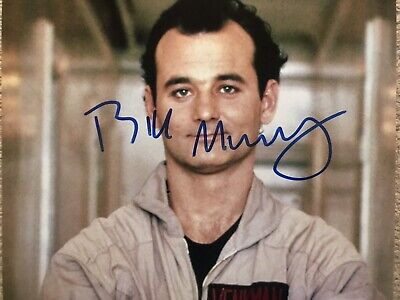 £34.99 • Buy Original Hand Signed Ghostbusters Picture By Bill Murray, 🎬👻