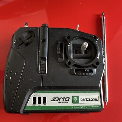 £10 • Buy Parkzone ZX10 Transmitter Plane/Aeroplane - Excellent Condition Free Postage