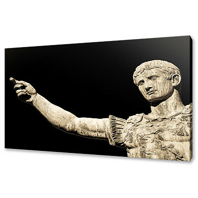 £19.99 • Buy Statue Of The Ancient Roman Emperor Canvas Print Wall Art Picture