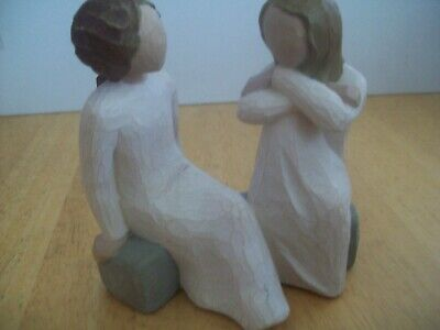 £8.74 • Buy WILLOW TREE FIGURINE TWO SISTERS/FRIENDS  Heart And Soul  2002 S .Lordi DEMDACO