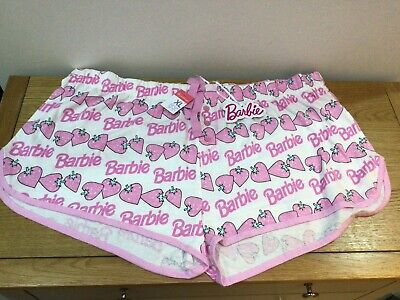 £5 • Buy Barbie Primark XL Pink Pyjama Shorts New With Tags 100% Cotton