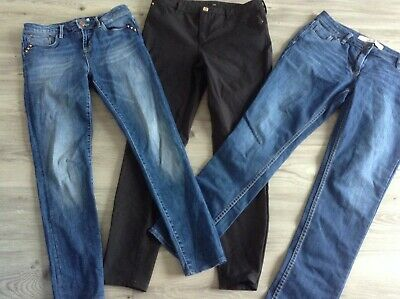 £3 • Buy River Island Mint Velvet Next Ladies Small Bundle Of Relaxed / Skinny Jeans 12r