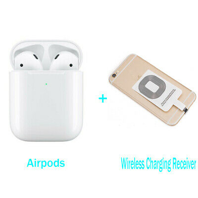 AU94.99 • Buy Airpods 2nd Wireless Headphones + Wireless Charging Receiver Module For Iphone