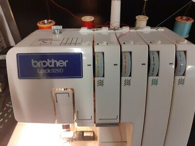 £95 • Buy Brother Lock929D Overlock Sewing Machine & Foot Pedal RSPCA Middlesex/Herts