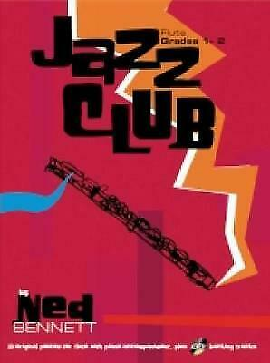 £2.95 • Buy New Jazz Club Flute Grades 1 - 2 Book And CD Piano And Flute Music Book