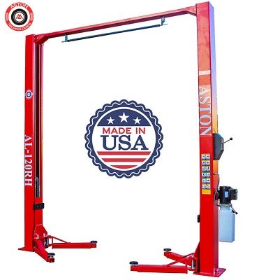 £590.78 • Buy 12,000 Lbs 2 Post Lift ****SINGLE POINT LOCK RELEASE****Two Post Auto Car Lift