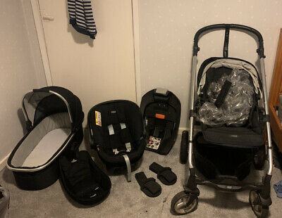 £50 • Buy Mamas And Papas Travel System: Sola Aton With Isofix And Carry Cot