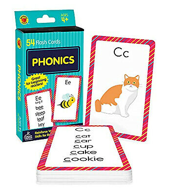 £3.76 • Buy BABY Book GIFT Toy FUN Phonics Brighter Child Flash Cards FREE Post