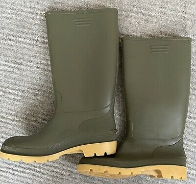 £12 • Buy Mens High Calf Rain Muck Boots Shoes Working Hunting Size 9 / 43