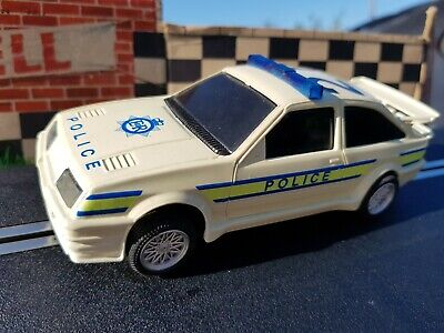 £9.99 • Buy Scalextric Ford Sierra Rs 500 Cosworth Police Car Flashing Blue Light & Siren