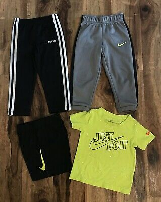 AU6.83 • Buy Lot Of Toddler Boys Clothes Sz 2T-3T Nike & Adidas