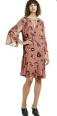 AU20 • Buy Country Road Fluted Sleeve Dress Size 8