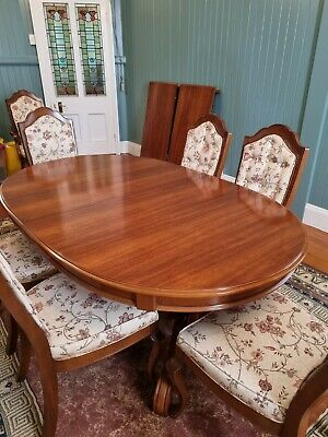 AU3500 • Buy Van Treight Dining Table And 8 Chairs And Wall Unit