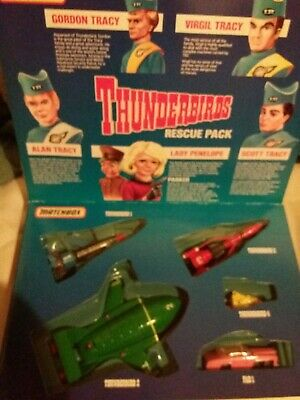 £20 • Buy THUNDERBIRDS RESCUE PACK TB-700 1992 - Vintage Matchbox Toys New In Box