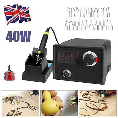 £6.79 • Buy 40W Soldering Iron Station Rework Variable Temperature Stand Digital Kit Tool