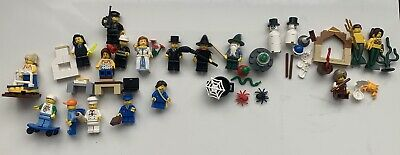 £10 • Buy LEGO Bundle Joblot Of Assorted Mini Figures - Some Rare With Some Accessories.