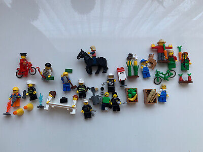 £12 • Buy LEGO Bundle Joblot Of Assorted Mini Figures - Some Rare With Some Accessories.